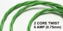 2 CORE TWIST - 6 Amp